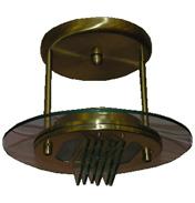 Satin Brass Linear Halogen Fitting- 389 30SB