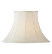 Endon Cream Bell Lamp Shade CARRIE 5.5""