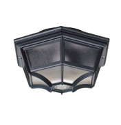 Porch Light Fitting Black- YG 0100 BL