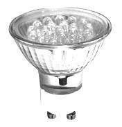 LED 240v White GU10